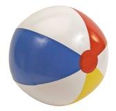 Bola de playa aislada en blanco Foto de archivo libre de regalías