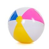 Bola de playa colorida Imágenes de archivo libres de regalías