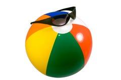 Bola de playa de la diversión Fotografía de archivo