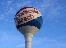 Bola de playa de Pensacola Foto de archivo libre de regalías
