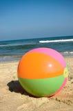 Bola de playa en Virginia Beach Fotografía de archivo libre de regalías