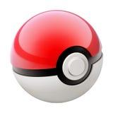 Bola de Pokemon ilustração do vetor