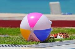 Bola de praia Imagens de Stock