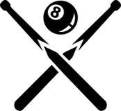 Bola de Queque oito da associação Imagens de Stock