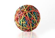 Bola de Rubberband Foto de archivo libre de regalías