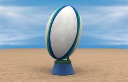 Bola de rugbi Foto de archivo libre de regalías