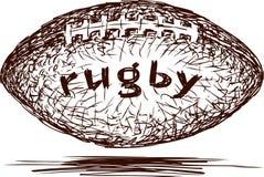 Bola de rugby Foto de Stock
