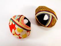Bola de seda hecha punto japonés del vintage Fotos de archivo libres de regalías
