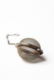 Bola de té del acero inoxidable Foto de archivo libre de regalías