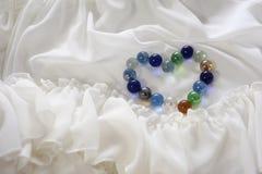 Bola de vidro do amor Fotografia de Stock