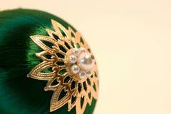 Bola del árbol de navidad Foto de archivo