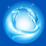 Bola del agua Imágenes de archivo libres de regalías