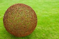 Bola del alambre oxidado Fotografía de archivo libre de regalías