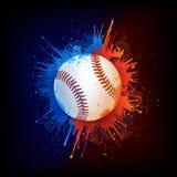 Bola del béisbol Imagen de archivo
