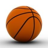 Bola del baloncesto en el fondo blanco Foto de archivo