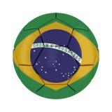 Bola 2014 del Brasil del mundial Imágenes de archivo libres de regalías