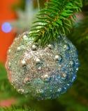 Bola del brillo del Año Nuevo Imagen de archivo