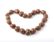 Bola del chocolate Imágenes de archivo libres de regalías