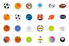 Bola del deporte Imagen de archivo libre de regalías