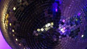 Bola del disco almacen de metraje de vídeo
