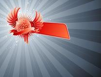 Bola del disco. Diseño abstracto del partido. ilustración del vector