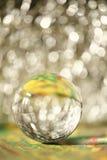 Bola del extracto de cristal Imagen de archivo libre de regalías