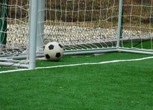 Bola del fútbol Foto de archivo libre de regalías