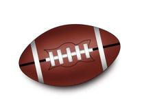 Bola del fútbol americano Imagen de archivo libre de regalías