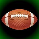 Bola del fútbol americano del vector Imagenes de archivo