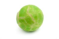 Bola del guisante verde de Wasabi Imagen de archivo libre de regalías