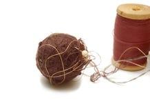 Bola del hilo Foto de archivo libre de regalías