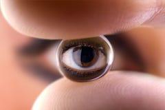 Bola del ojo 1 Fotos de archivo libres de regalías
