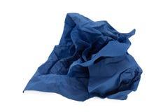 Bola del papel azul Fotos de archivo