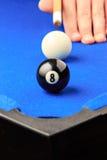 Bola del partido juego encima imagenes de archivo