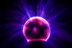 Bola del plasma Foto de archivo libre de regalías