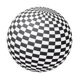 Bola del tablero de ajedrez Imagen de archivo