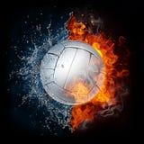 Bola del voleibol Fotografía de archivo