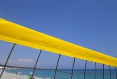 Bola del voleo de la playa Fotografía de archivo libre de regalías