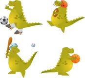 Bola Dino del juego Foto de archivo libre de regalías