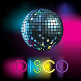 Bola do disco Imagem de Stock Royalty Free