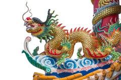 Bola do dragão e de fogo Foto de Stock Royalty Free