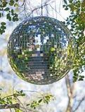 Bola do espelho Fotografia de Stock Royalty Free