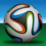 Bola do futebol do futebol Imagens de Stock Royalty Free