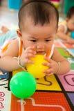 Bola do jogo do bebê Fotos de Stock