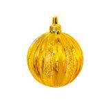Bola do Natal em um fundo branco Imagem de Stock