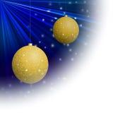 Bola do Natal para o cartão de Natal Imagens de Stock Royalty Free