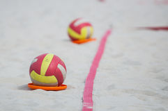 Bola do voleibol Foto de Stock Royalty Free