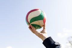 Bola do voleibol Fotos de Stock Royalty Free
