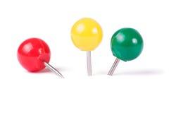 Bola dos pinos de desenho em cores diferentes Fotografia de Stock