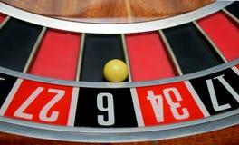 Bola em número seis Foto de Stock Royalty Free